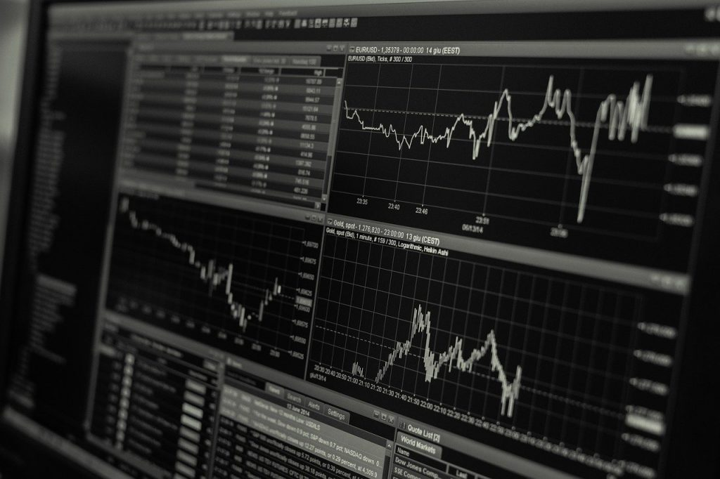 stock market chart image