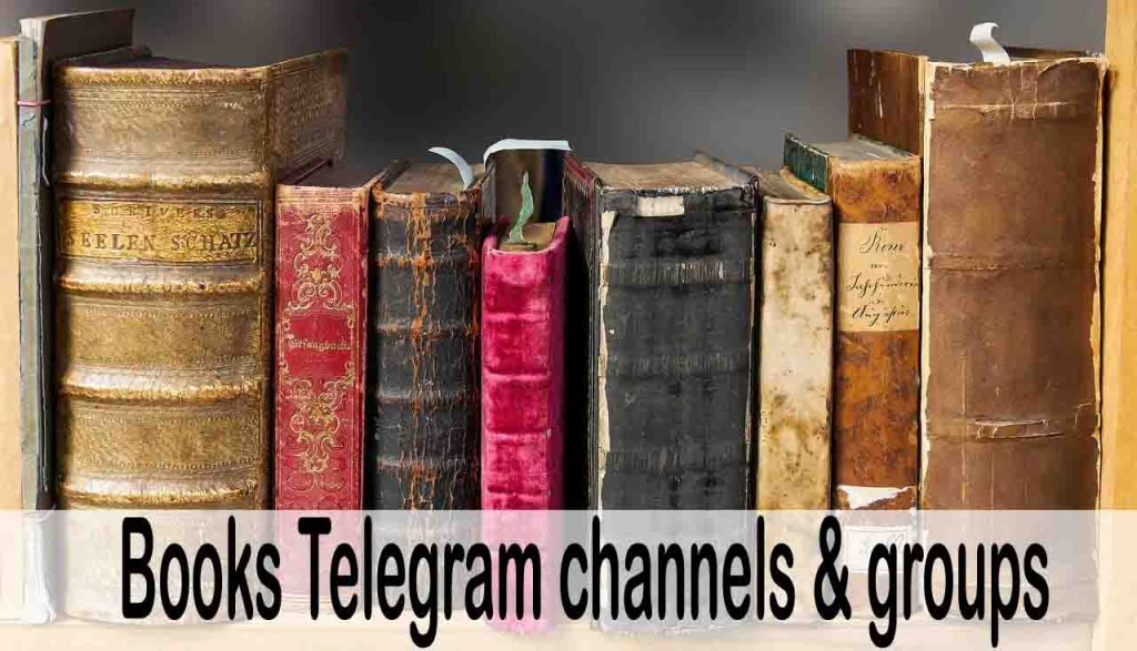 books telegram channels and group list intro image
