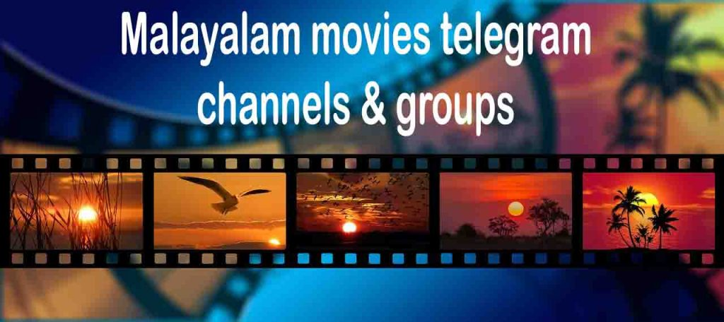 telegram channels malayalam movies intro poster