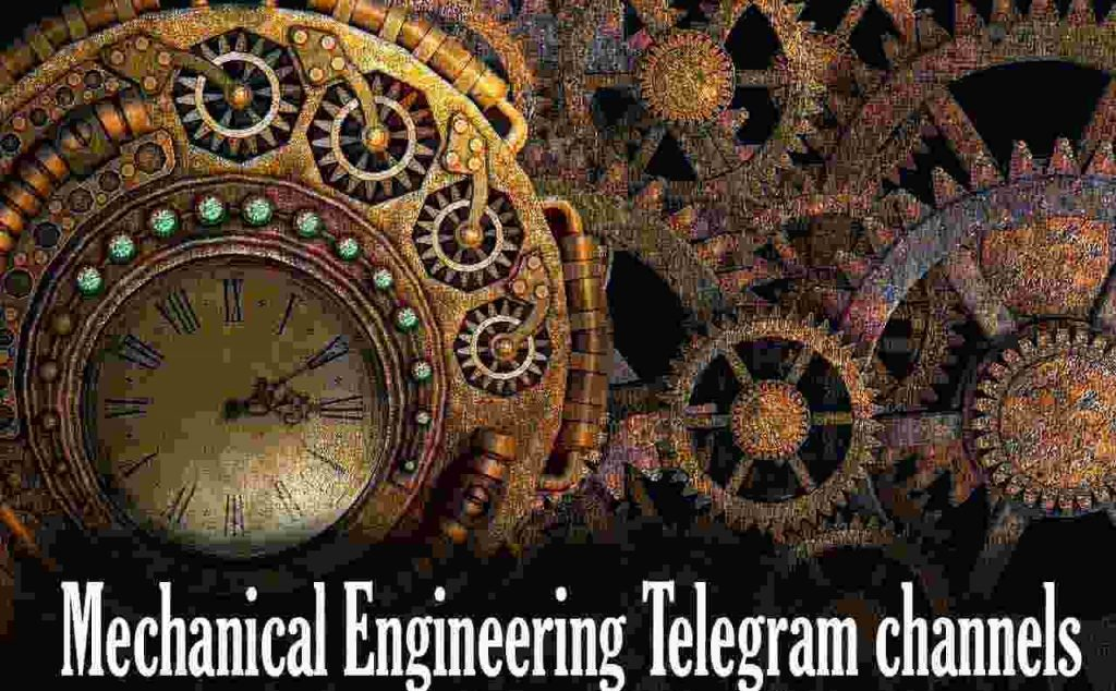 mechanical engineering telegram channels