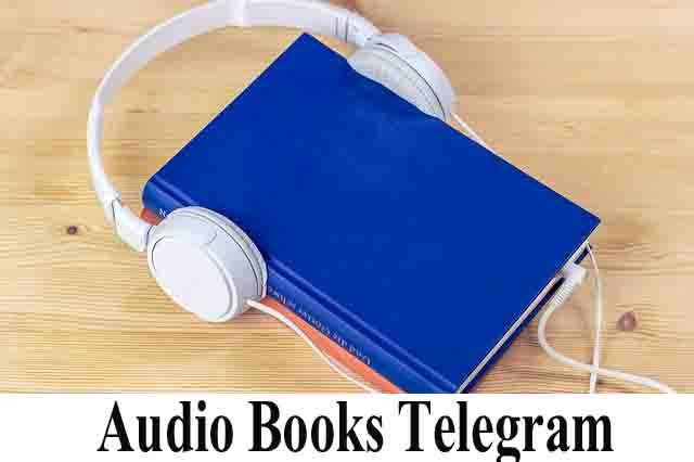 Audio Books Telegram channels intro image